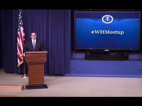 Tech Meetup at the White House