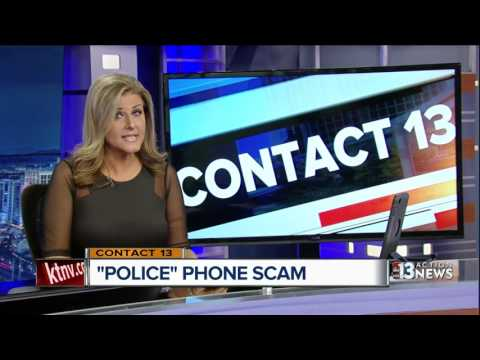 Nevada businesses warned about new police phone scam