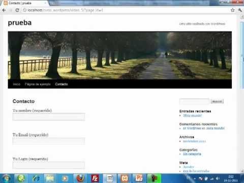 VideoTutorial 5 del Curso sobre WordPress