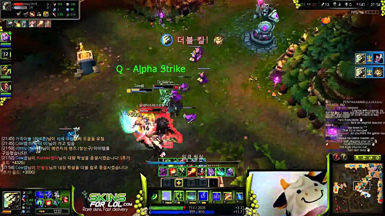 Cowsep Master Yi Build