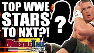 WWE BAN NXT References On Main Roster?! TOP WWE STARS TO NXT?!   WrestleTalk News June 2018