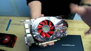 Radeon HD 5750 1GB ATI Video Card XFX Unboxing Linus Tech Tips