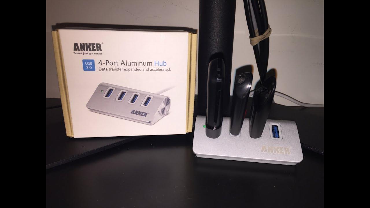 Anker 4 port USB 3.0 aluminum hub!