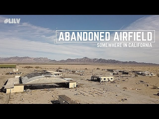 Exploring an ABANDONED Airfield in California