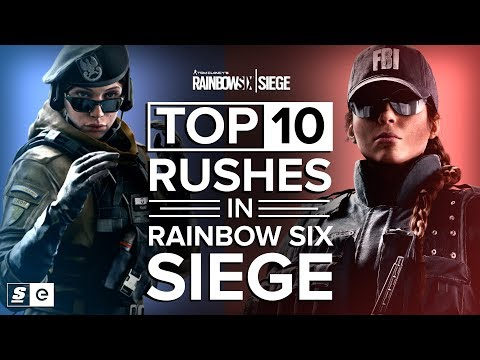 Top 10 Rushes in Rainbow 6 Siege