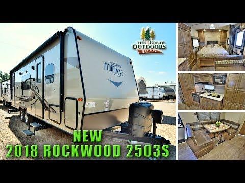 New 2018 Murphy bed Model ROCKWOOD 2503S Kitchen Slide Travel Trailer RV