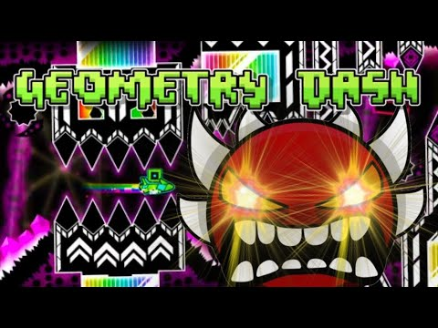 Geometry dash - God eater by Knobbelboy (Extreme demon)