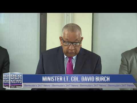 Minister Lt Col David Burch, November 19 2019