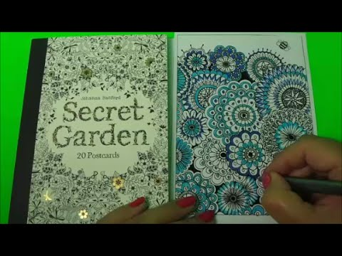 Johanna Basford Secret Garden Adult Coloring With Relaxing Music