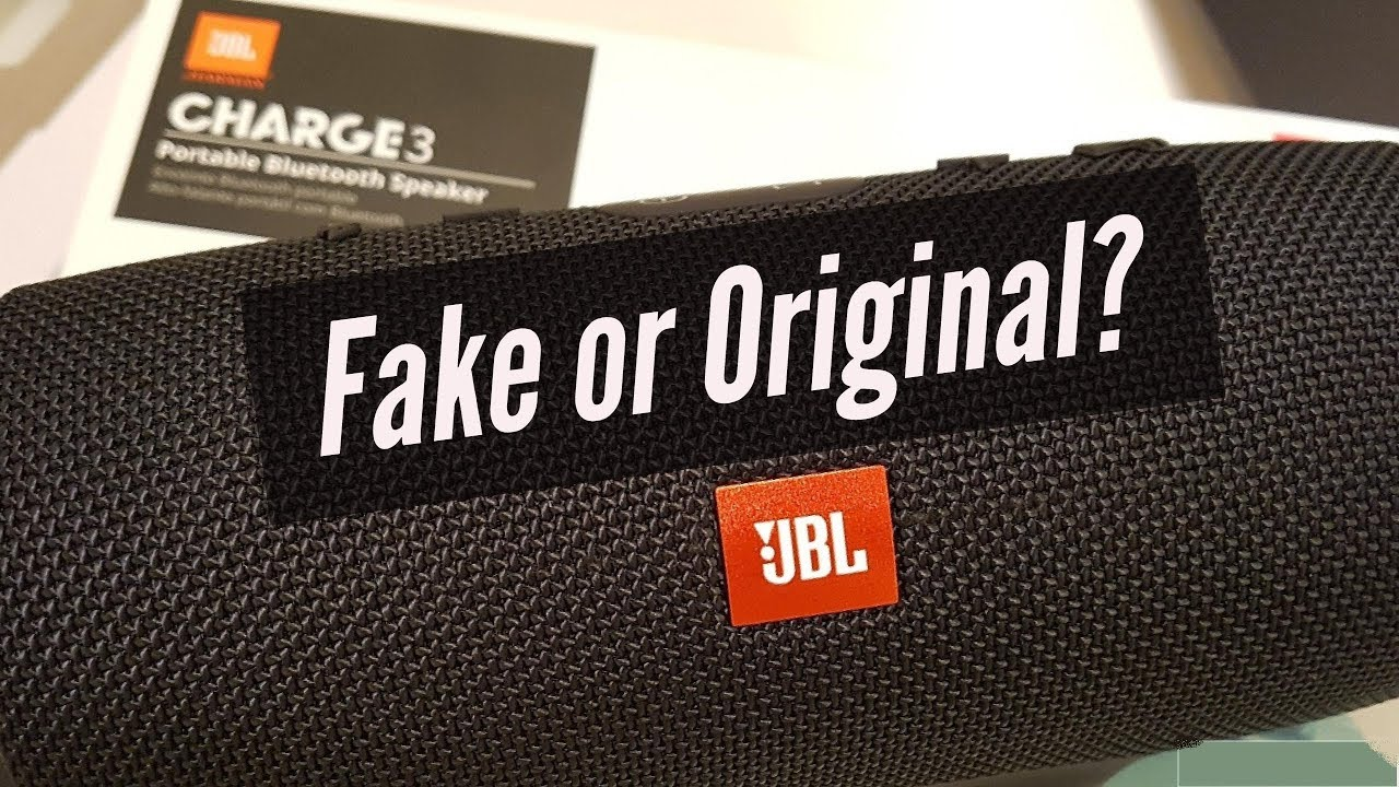 How to Spot is Your JBL Fake or Original? || Unboxing Genuine JBL Charge 3  and Sound Test