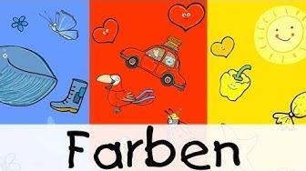 Farben || Kinderlieder zum Lernen