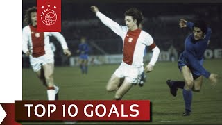 TOP 10 GOALS - Johan Cruijff
