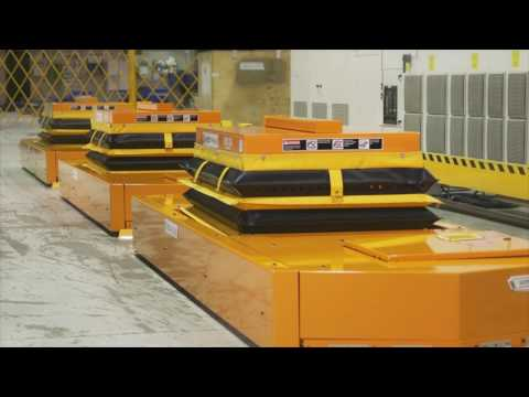 Rail Guided AGV with Lift