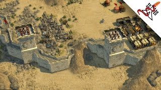 Stronghold Crusader 2 Multiplayer - 1vs1 The Long Siege | Deathmatch [1080p/HD]