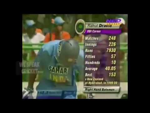 Ms Dhoni and Rahul Dravid best of runs 147 partnership vs Pakistan 2005