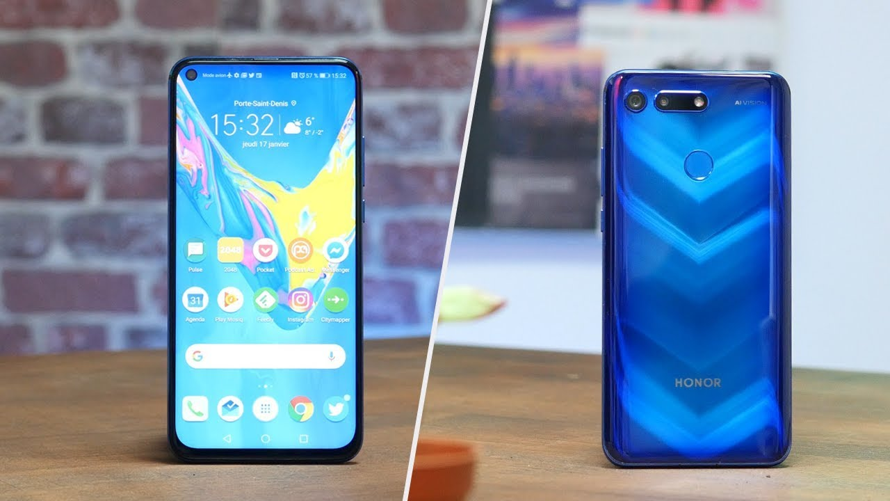 Ce smartphone PERCE LES CIEUX ! TEST Honor View 20 - YouTube