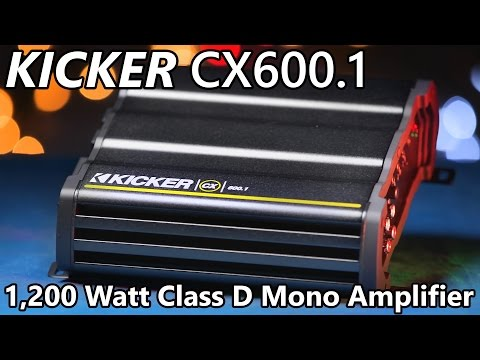 kicker cx600 1 amplifier 1,200 watts Xplod Wiring Diagram