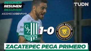 Resumen | Atlético Zacatepec 1 - 0 UDG | Ascenso MX - Apertura 2019 - 4tos de Final | TUDN