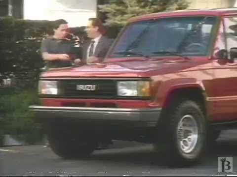1990 Isuzu Trooper Commercial Youtube