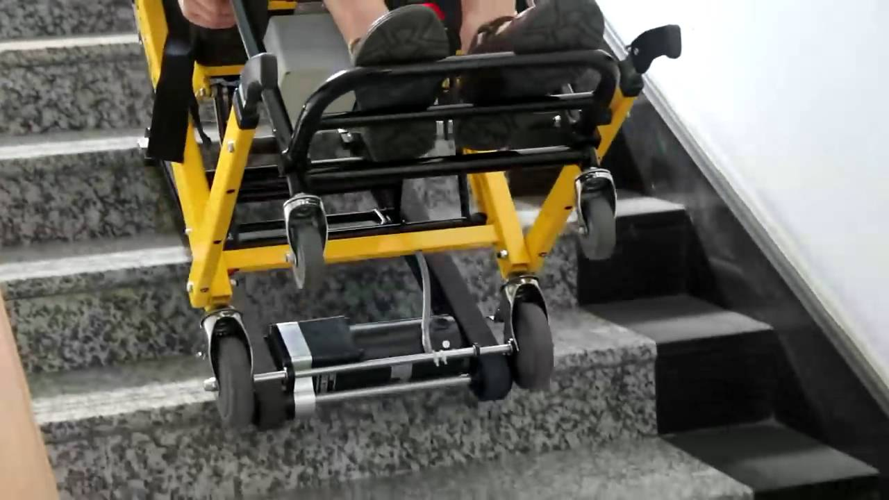 Electric Stair Climbing Wheelchair Youtube