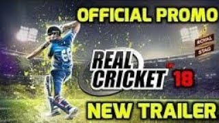 New Real cricket 18 3D version android coming soon