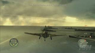 Blazing Angels: Squadrons of WWII PlayStation 3 Gameplay -