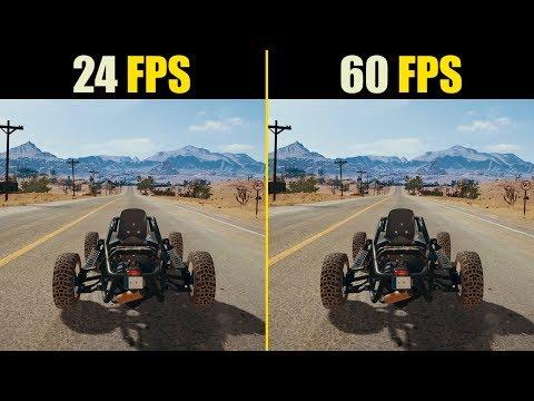 24 FPS vs. 60 FPS Gaming