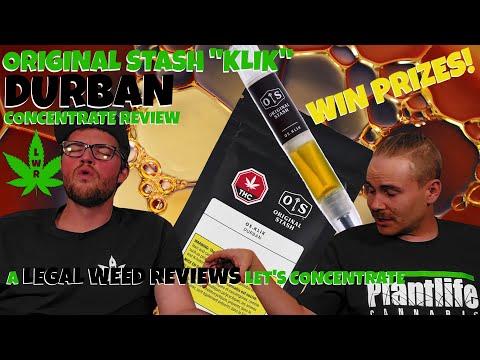 """Original Stash """"Klik"""" Durban Concentrate Review - Legal Weed Reviews - (18+)"""