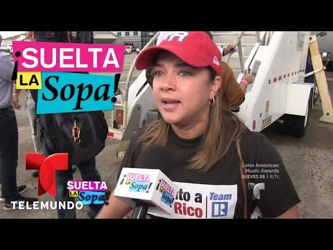 Adamari López se reencontró con su hermano tras el huracán María   Suelta La Sopa   Entretenimiento