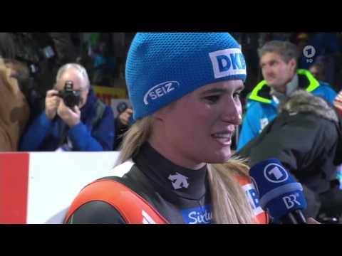 Natalie Geisenberger - Rennrodel-WM Königssee 2016 Interview