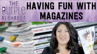 EASY Activities w/ MAGAZINES