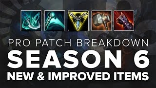 Pro Patch Breakdown: Pre-season 6 Item Changes ft. Sneaky, Balls, Lemon, & IWD | League of Legends