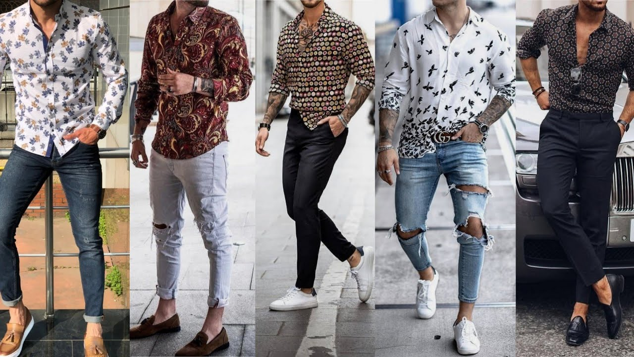 [VIDEO] - Print Shirt Outfit Ideas for Men | Men's Fashion and Style| How to Style Floral Shirt 2019 Lookbook 1
