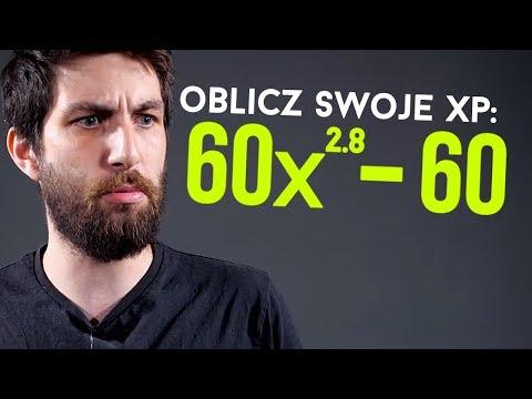 Matematyka wbijania expa w grach
