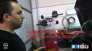 Filtro particulas diesel lleno | Avería en filtro particulas coches diesel | DPF