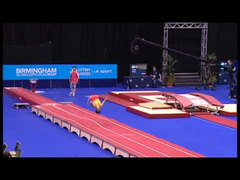 Song Yang (CHN) - 2011 World Tumbling - TF