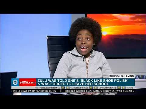 Njabulo Zulu has been mocked most of her school life for being too dark
