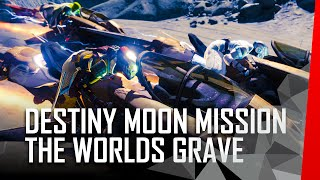 Destiny: Moon gameplay - The world's grave