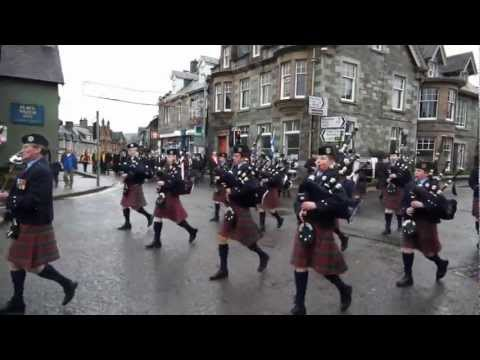 St Andrew's Day Parade
