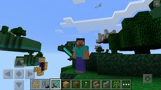 Как построить/сделать портал в Рай Minecraft PE Топовый мод