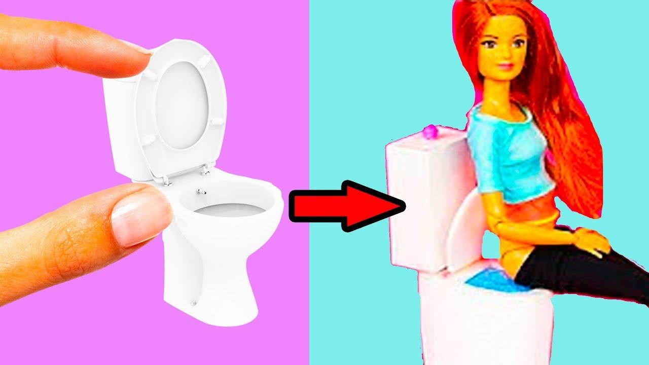 7 Inspiring Kid Room Color Options For Your Little Ones: 10 DIY Barbie Hacks! Easy DIY Nursery Room DollHouse