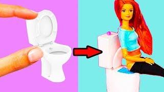 10 DIY Barbie Hacks! Easy DIY Nursery Room DollHouse - Hacks for Kids