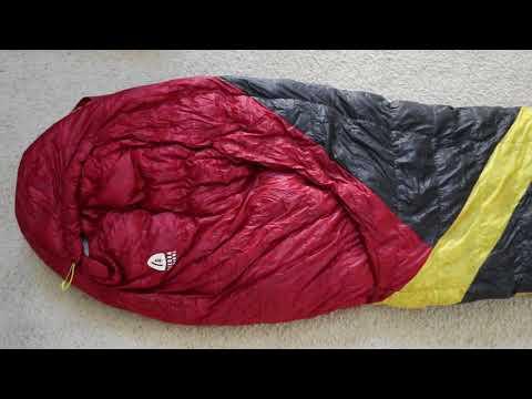 mountain talk gear: Sierra Designs Cloud 20 Backpacking Gear Review