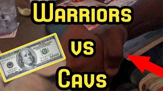 100 DOLLAR BET!! WARRIORS VS CAVS 2017 NBA FINALS GAME 2 FULL HIGHLIGHTS AND REACTION!