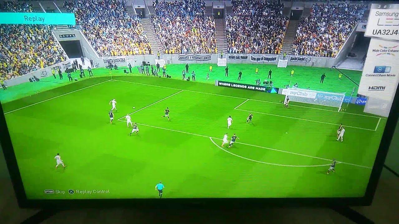 Marcelo goal in Juventus (PES18)