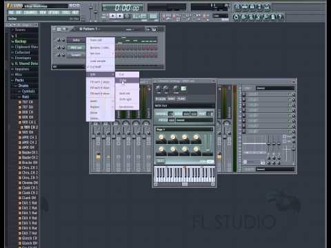 FL Studio- Экспорт мелодии в формате Midi