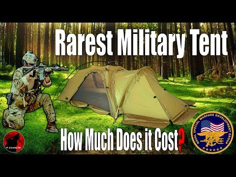Would You Buy One? - Rarest Military Tent In The World - Nemo Coda 1.5 SE