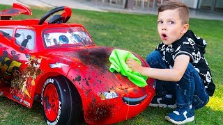 Artem and Toy Car Wash
