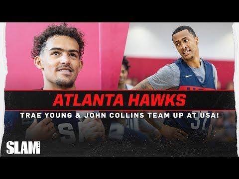 Trae Young & John Collins Team Up at USA Basketball! 👀
