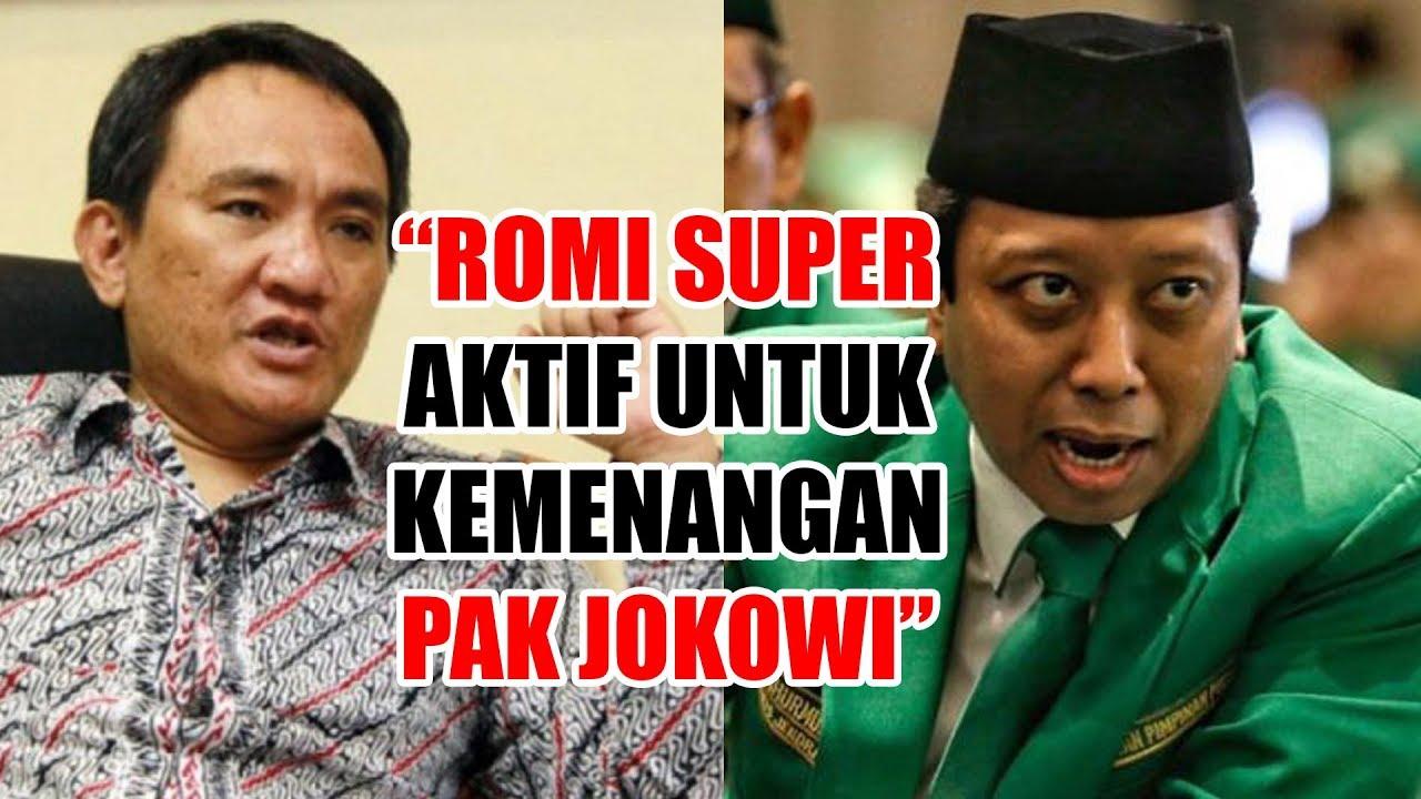 Romahurmuziy Ditangkap KPK, Andi Arief Romi Super Aktif